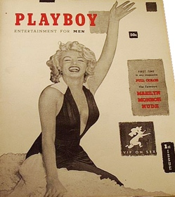 Playboy first issue 1953 featuring Marilyn Monroe sells for 5000 dollars